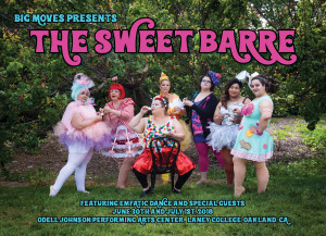 2018 Show Card_The Sweet Barre_Front