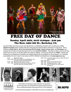 Day of Dance 2018 Flyer