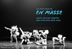 En Masse show postcard